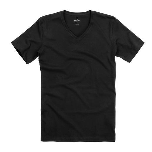 Ragman Pima-Cotton-Unterzieh-Shirt, 2er-Set Das bessere Unterzieh-Shirt bleibt unsichtbar. auchfeiner Single-Jersey aus feinster Pima-Baumwolle. Von Ragman.