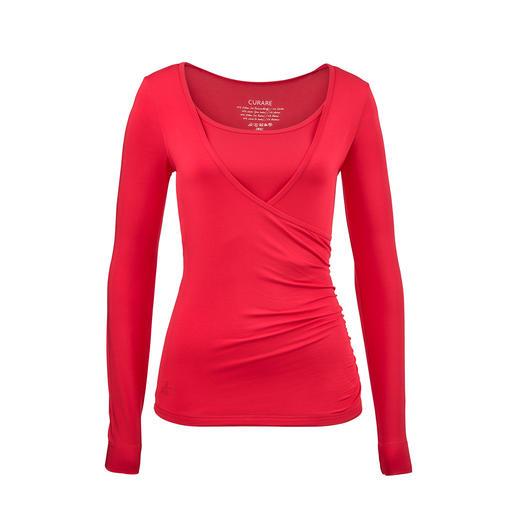 Der Yogasuit von Curare Yogawear: Wellness zum Anziehen. Wunderbar weich fliessend. Super bequem. Betont schlicht. Zeitlos schick und sogar strassentauglich.