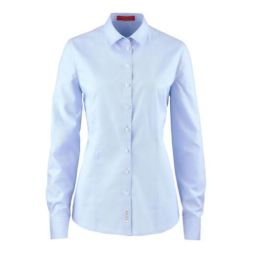 Fashion Classics Oxford-Bluse Die unvergängliche Oxford-Bluse. Aus reiner Baumwolle. Hochwertig verarbeitet.