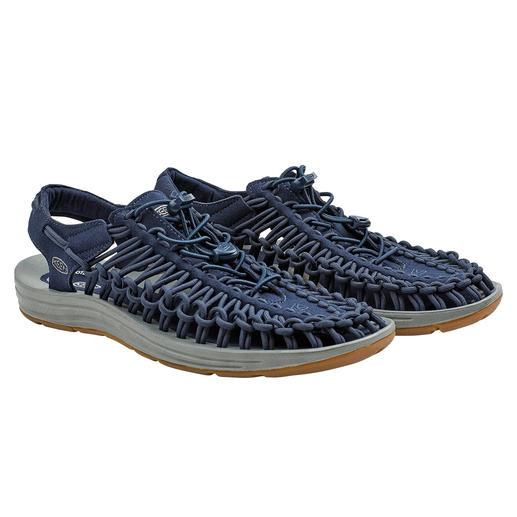 KEEN® Outdoor-Sandale Uneek™, Herren 2 Schnüre + 1 Sohle = die derzeit wohl innovativste Outdoor-Sandale.