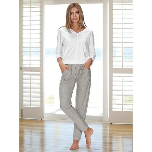HFor Sweatshirt oder Sweat-Pants Herrlich bequem. Trendgerecht strassentauglich. Der Loungewear-Anzug vom belgischen Newcomer-Label HFor.