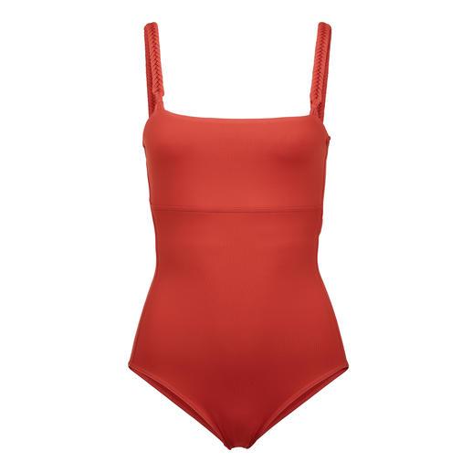 Iodus Clean-Cut-Badeanzug Schlicht unifarben, aber alles andere als langweilig. Sitzt perfekt und schmeichelt Ihrer Figur.