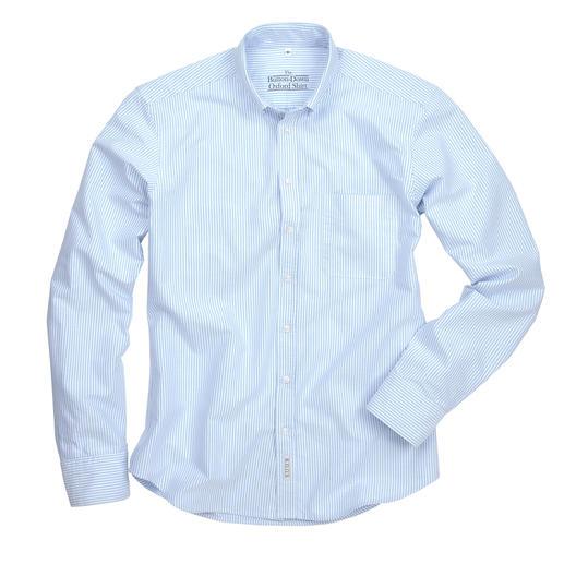 The BDO-Shirt, Hellblau/Weiss Gestreift, Slim Fit Entdecken Sie einen guten alten Freund. Und vergessen Sie, dass ein Hemd gebügelt werden muss.