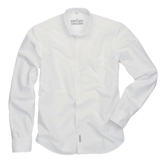 The BDO-Shirt, Weiss, Slim Fit Entdecken Sie einen guten alten Freund. Und vergessen Sie, dass ein Hemd gebügelt werden muss.