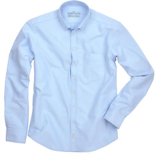 The BDO-Shirt, Hellblau, Slim Fit Entdecken Sie einen guten alten Freund. Und vergessen Sie, dass ein Hemd gebügelt werden muss.