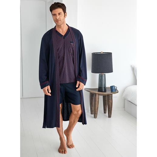 Lieblings-Pyjama No.28 oder Lieblings-Bademantel Reine Baumwolle, sauber verarbeitet, made in Germany.