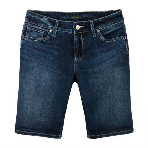 Silver Skinny-Jeansshorts Die original Silver Jeans aus Kanada: Perfekter Sitz. Unverwechselbarer Stil.
