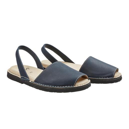 Avarcas de Menorca, Herren Die traditionelle Menorca-Sandale: Handgefertigt. Und in den heissesten Sommern bewährt. Original Avarcas von RIA.