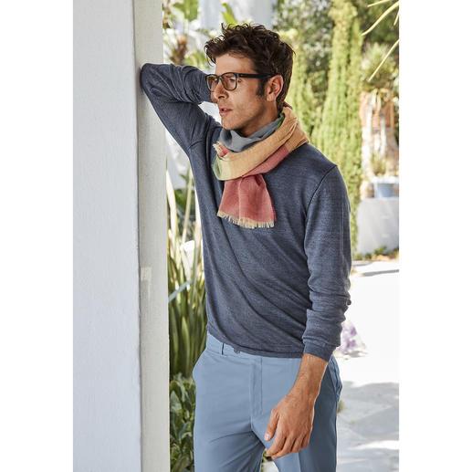 Lochcarron 6-Farben-Schal
