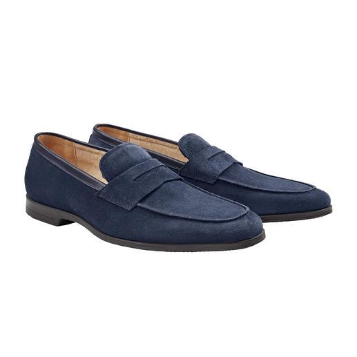 Barfuss-Mokassin Weiches, saugstarkes Frottee-Futter macht diesen Mokassin zum idealen Barfuss-Schuh.