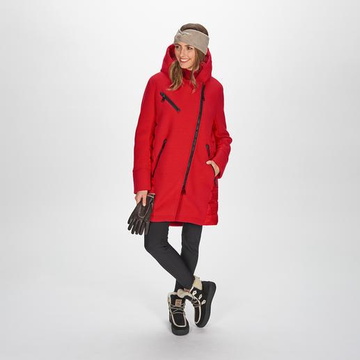 Goldbergh Sports-Couture- Parka und Softshell-Steghose Sportliche Streetwear oder Stylishe Sportswear? Beides! Vom niederländischen Fashion-Press-Liebling Goldbergh.