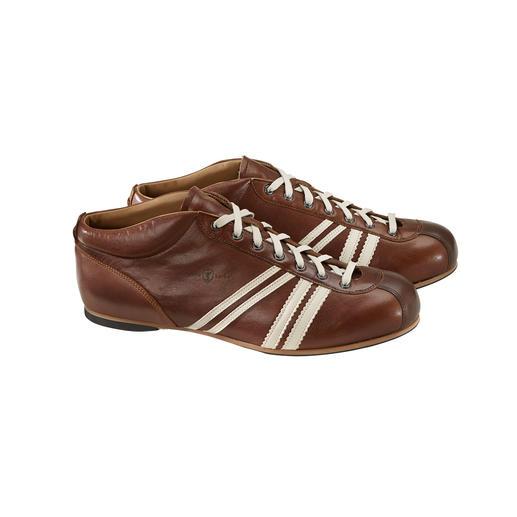 """Zeha Retro-Fussball-Sneaker Im Original-Design der 50er-Jahre: der DDR-Fussball-Schuh """"Liga"""" von Zeha."""