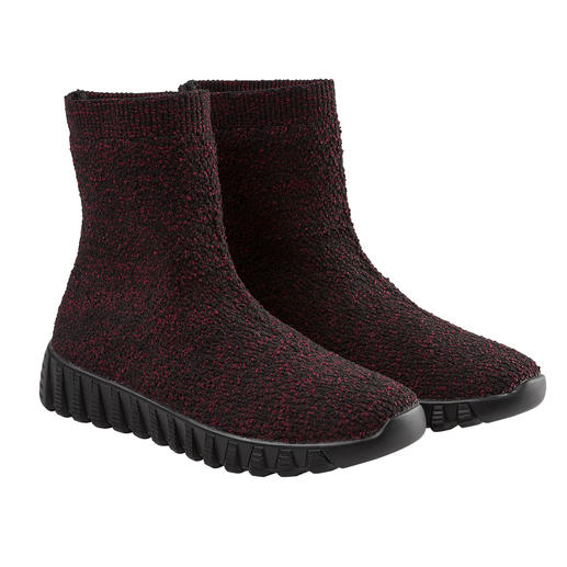 bernie mev.  Knit-Boots Bequemer, leichter und luftiger können gestrickte Boots kaum sein.