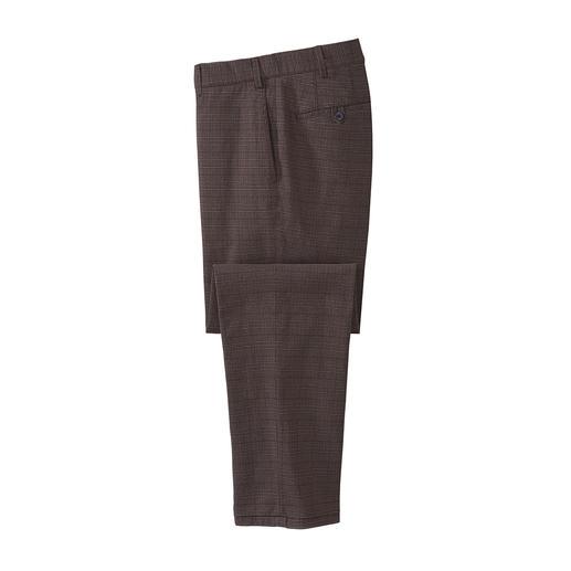 Hiltl Wool-Look-Glencheckhose Die Glencheck-Hose vom deutschen Hosen-Spezialisten Hiltl.