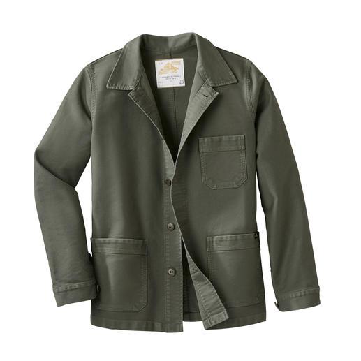 Mont Saint Michel Workwear-Jacket Die original Arbeiterjacke aus der Normandie von 1913. Heute zeitgemässer Mode-Klassiker im aktuellen Workwear-Stil.