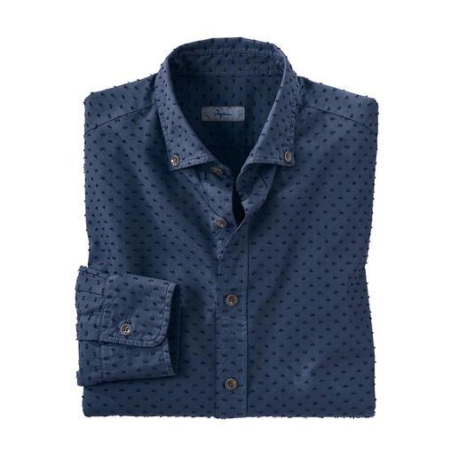 Ingram 3D-Tupfen-Hemd So aussergewöhnlich dreidimensional sind nur die wenigsten Tupfen.