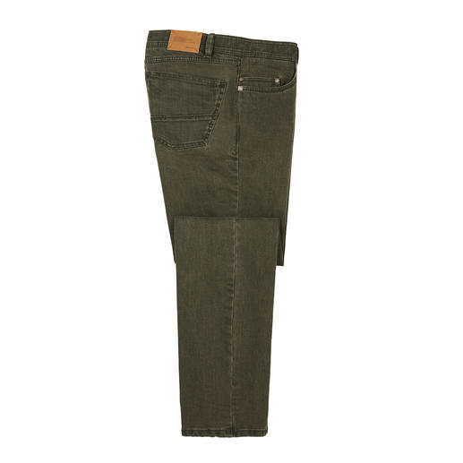 Coloured-Flex-Denim Jeans Die Eurex by Brax Jeans aus innovativem Flex-Material.