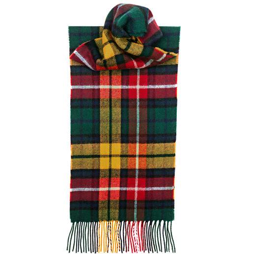 Schottenkaro-Schals sieht man jetzt viele. Doch registrierte Tartans sind nur die wenigsten. Schottenkaro-Schals sieht man jetzt viele. Doch registrierte Tartans sind nur die wenigsten.