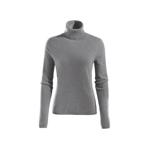 Der Kaschmir-Pullover, der so luftig wie ein Shirt ist. Vom Schweizer Spezialisten Fair Trade Cashmere.