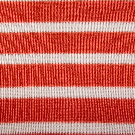 Orange/Weiss