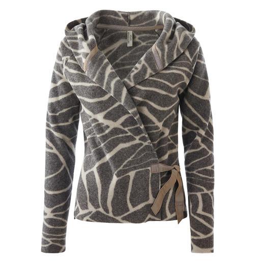Die  feminine und stilvolle unter den Fleece-Jacken. Skandinavisches Design von Henriette Steffensen, Kopenhagen.