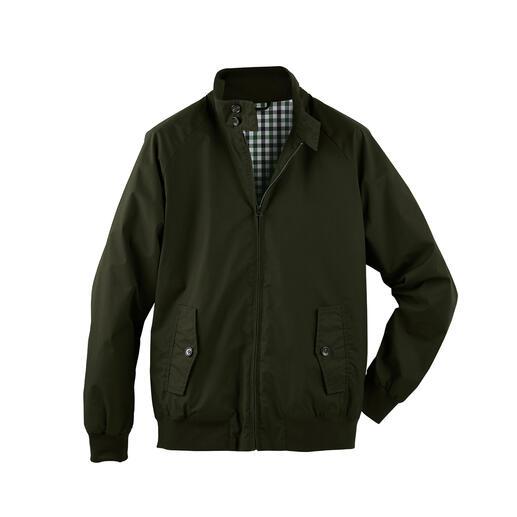 Harrington-Wachsjacke Kult-Klassiker Harrington-Jacke – jetzt aus wetterfest gewachster Baumwolle.