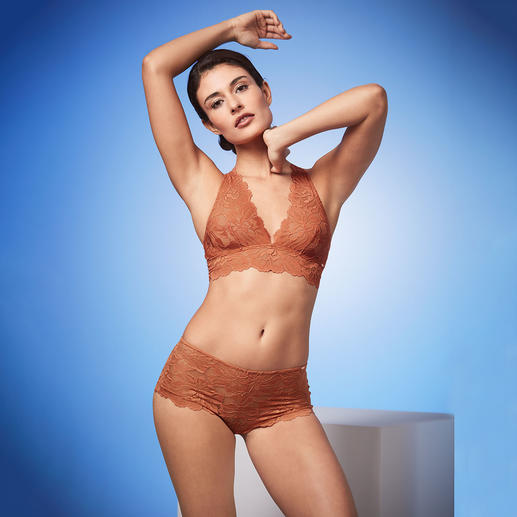 Skiny Spitzen-Bralette und -Panty Modischer Look. Spürbare Qualität. Vom Wäschespezialisten Skiny, Österreich.