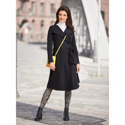 [schi]ess Jersey-Mantel Businesstauglicher Jersey-Mantel oder edle Loungewear? Beides!