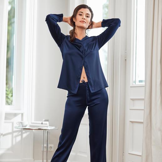 Chiara Fiorini Seiden-Pyjama Schöner Schlafen in edler Stretch-Seide.
