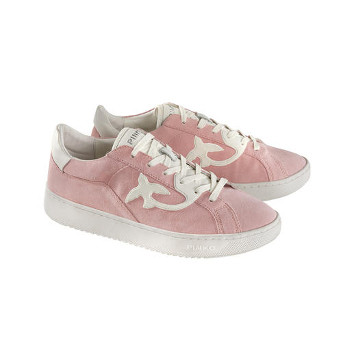 Der feminine unter den modischen Retro-Sneakers. Von Pinko, Italy. Der feminine unter den modischen Retro-Sneakers. Von Pinko, Italy.
