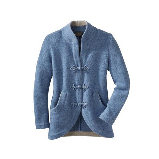 Mirabell Softwalk-Jacke Walkstoff auf leichte Art. Weit weg von alpenländischer Tradition.