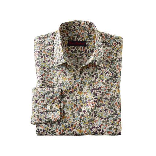 Liberty™ Tana-Lawn-Hemd Wiltshire Das florale Gentleman-Hemd: Bei allen anderen Trend. Bei Liberty™ Tradition seit über 140 Jahren.