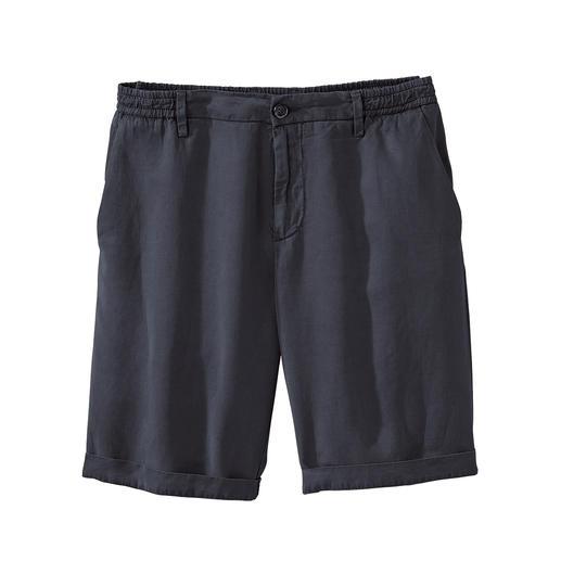 Myths Tencel-Leinen-Shorts Luftige Shorts aus edlem Tencel®-Leinen. Made in Italy. Von Myths.