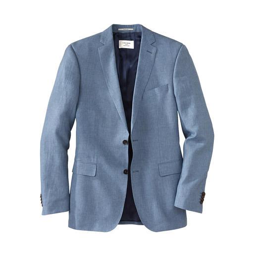 Ihr wohl nobelster Business-Anzug im Sommer – dank edlem Leinen-Tuch von Loro Piana. Ihr wohl nobelster Business-Anzug im Sommer – dank edlem Leinen-Tuch von Loro Piana.