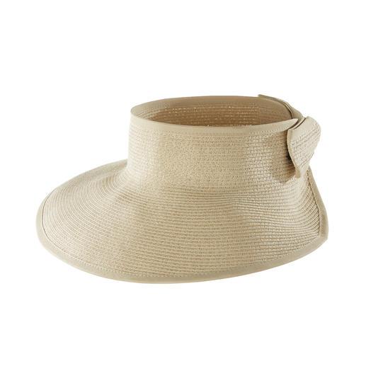 Loevenich Paper-Braid-Visor Das flexible Sonnenschild aus feiner Papierborte. Von Loevenich, Huthandwerk seit 1960.