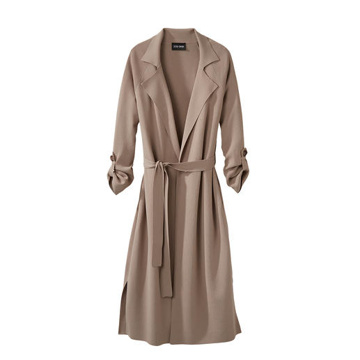 ZOE ONA Strick-Trench Modischer Glücksgriff: der Long-Trench vom Knitwear-It-Label ZOE ONA.