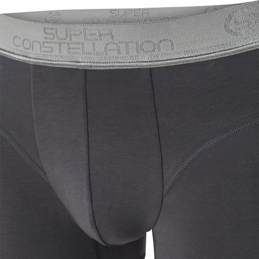 Die perfekt sitzenden Trunk-Shorts aus Pima Cotton. Von Super Constellation.