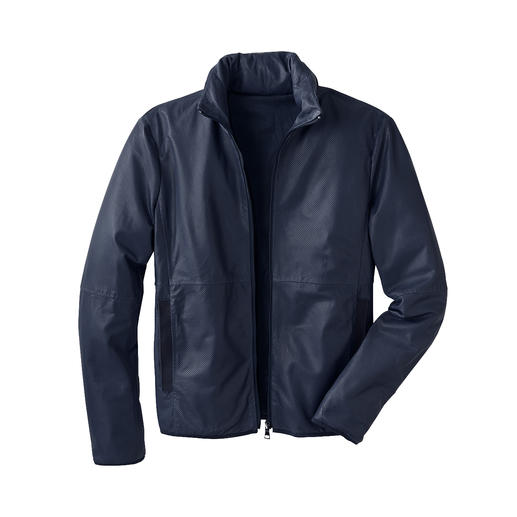 Pocket-Lederjacke Die perfekte Lederjacke für den Sommer – und die Reise. Leicht. Luftig. Handlich zu verstauen.
