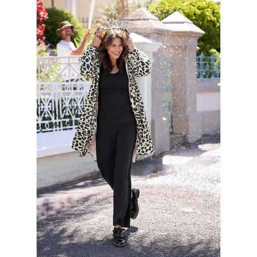 Ilse Jacobsen Leo-Raincoat Selten ist Funktion so schick und modisch.