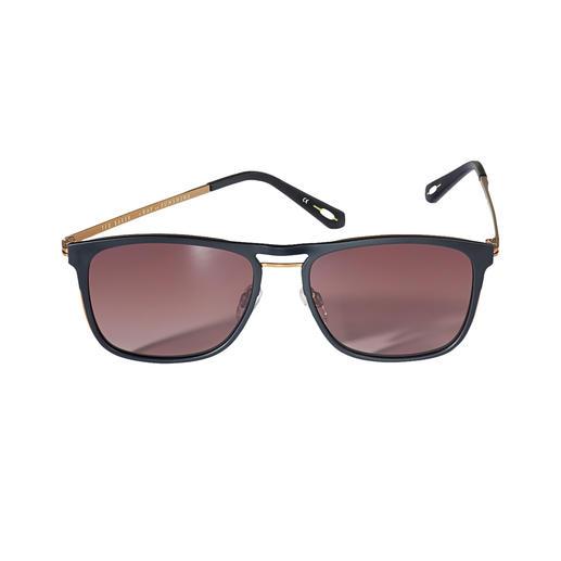 Ted Baker Aviator-Sonnenbrille Die Sonnenbrille vom Londoner Trend-Label Ted Baker – hierzulande noch schwer zu finden.