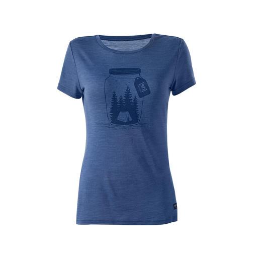 super.natural Damen-Motiv-Shirt Das dezente Eyecatcher-Motiv gefällt fast jedem. Den Unterschied beim Tragen spüren nur Sie.