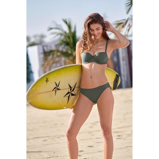 Sunflair® ReNew-Bikini Der wohl erste Bikini mit positivem Umwelt-Beitrag. Aus ReNew Cult – dem Recycling-Material aus dem Meer für das Meer.