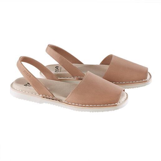 Die traditionelle Menorca-Sandale: Handgefertigt. Und in den heissesten Sommern bewährt. Original Avarcas von RIA.