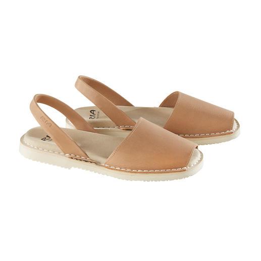 Avarcas de Menorca, Damen Die traditionelle Menorca-Sandale: Handgefertigt. Und im Sommer bewährt. Original Avarcas von RIA.