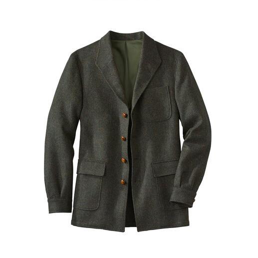 Die Sakko-Jacke: Eleganter als eine Jacke. Lässiger als ein Sakko. Und perfekter Ersatz für beides. Von Curzon Classics - einer der wenigen noch bestehenden Teba-Manufakturen.