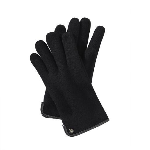 Die Woll-Handschuhe aus edlem Walkstoff: viel weicher (und wetterfester). Von Roeckl, seit über 180 Jahren Spezialist für stilvolle Accessoires. Für Herren.