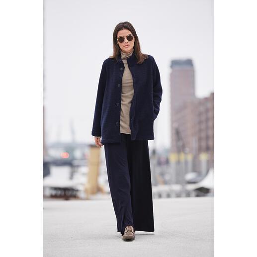 LABO.ART Bouclé-Jacke, Strickhose oder Rolli Basic und Blickfang zugleich: die puristisch cleane Kombination aus softem Wolljersey.