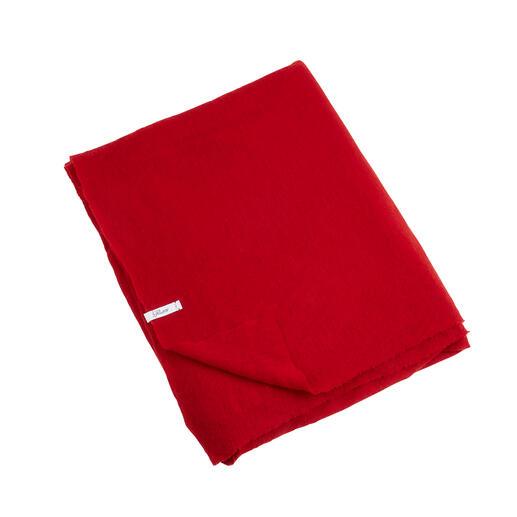 Pin 1876 Kaschmir-Schal, Rot