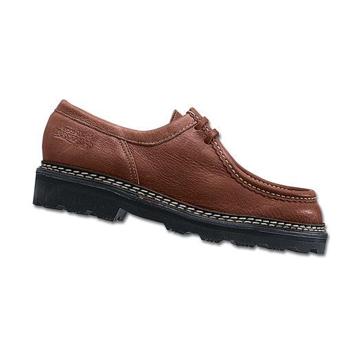 Elchleder-Schuhe Bequeme Halbschuhe aus butterweichem Elchleder. Jeder Schuh ein Unikat.
