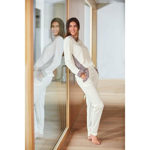 Der Loungewear-Anzug vom belgischen Newcomer-Label HFor. Herrlich bequem. Trendgerecht strassentauglich. Und erfreulich erschwinglich.